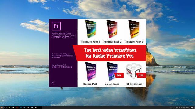 PR插件 Adobe Premiere Pro 五套转场特效插件合集