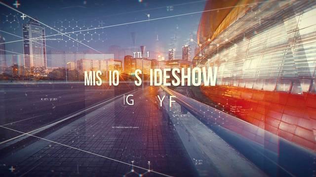 AE模板 高科技空间感宣传片视频展示