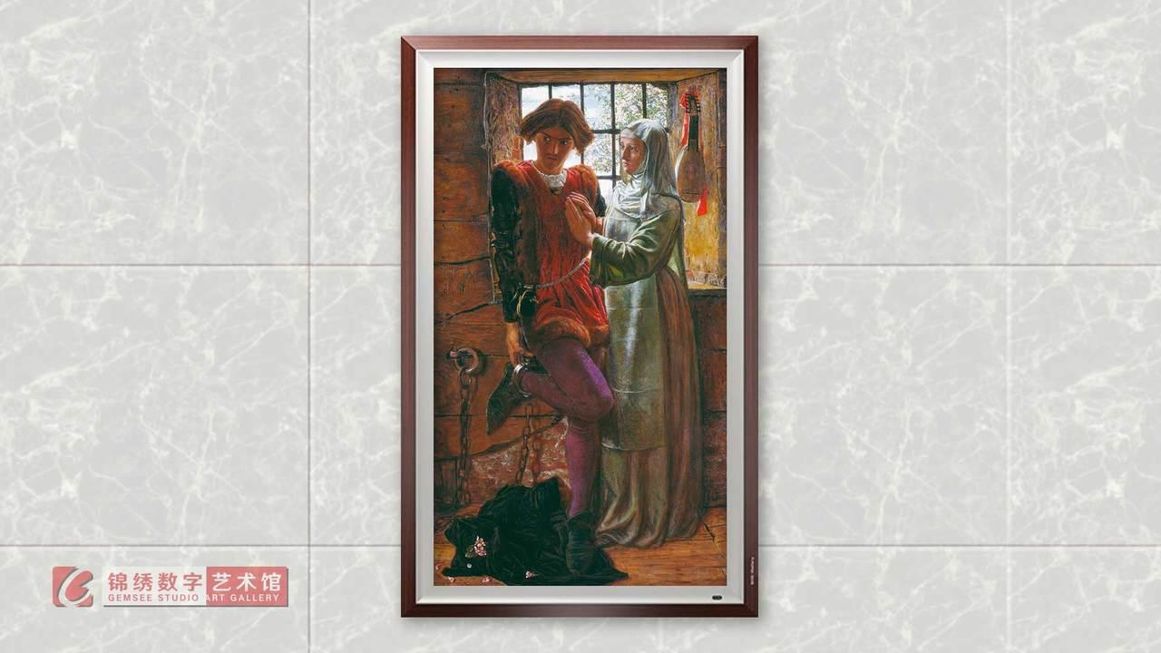 锦绣画屏 克劳迪奥和伊莎贝拉 亨特