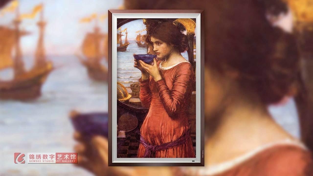 锦绣画屏 命运1900 沃特豪斯