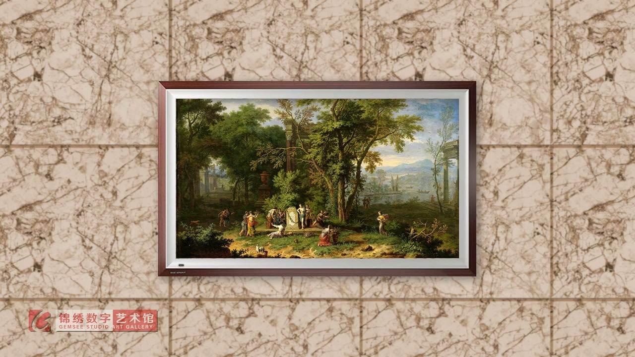 画屏 8K_在阿卡迪亚的献祭 海以森