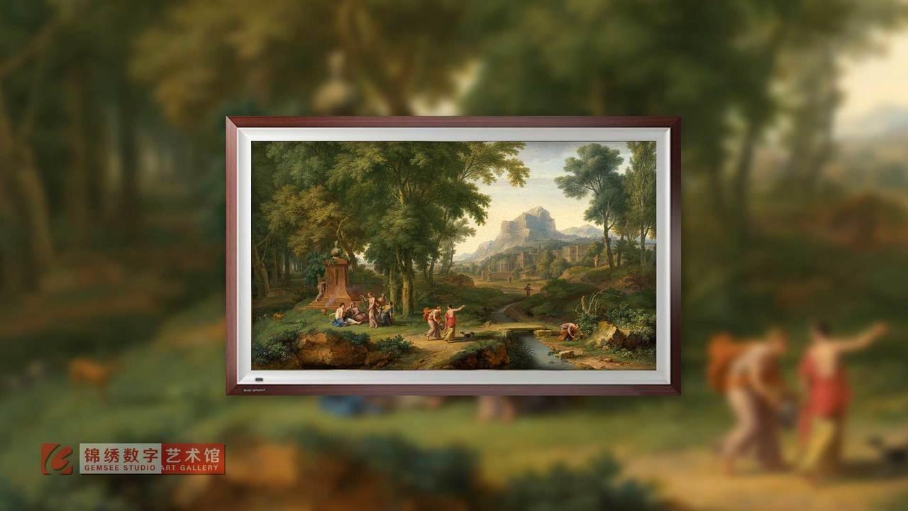 画屏 8K_阿卡迪亚风景 海以森