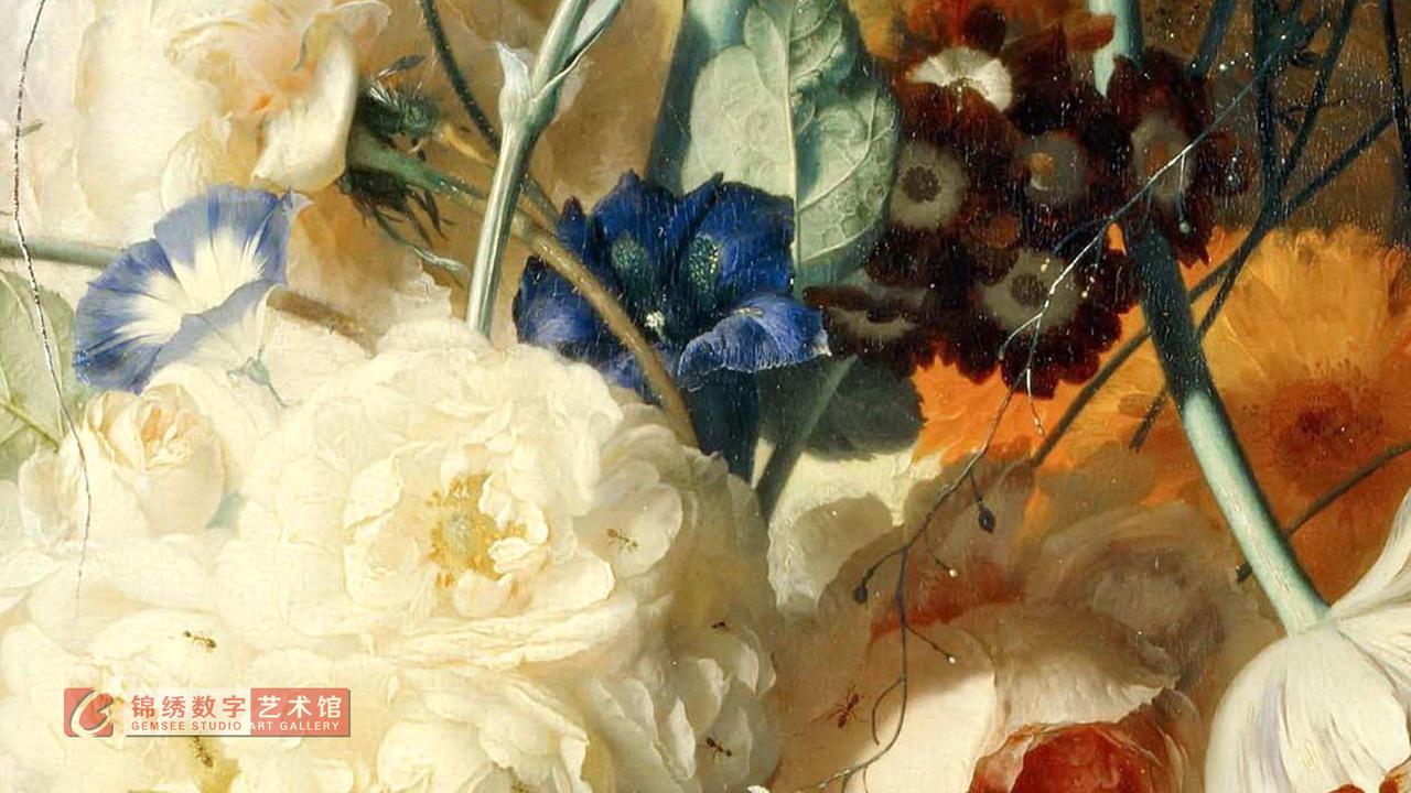 画屏 8K_壁龛中的花瓶 海以森
