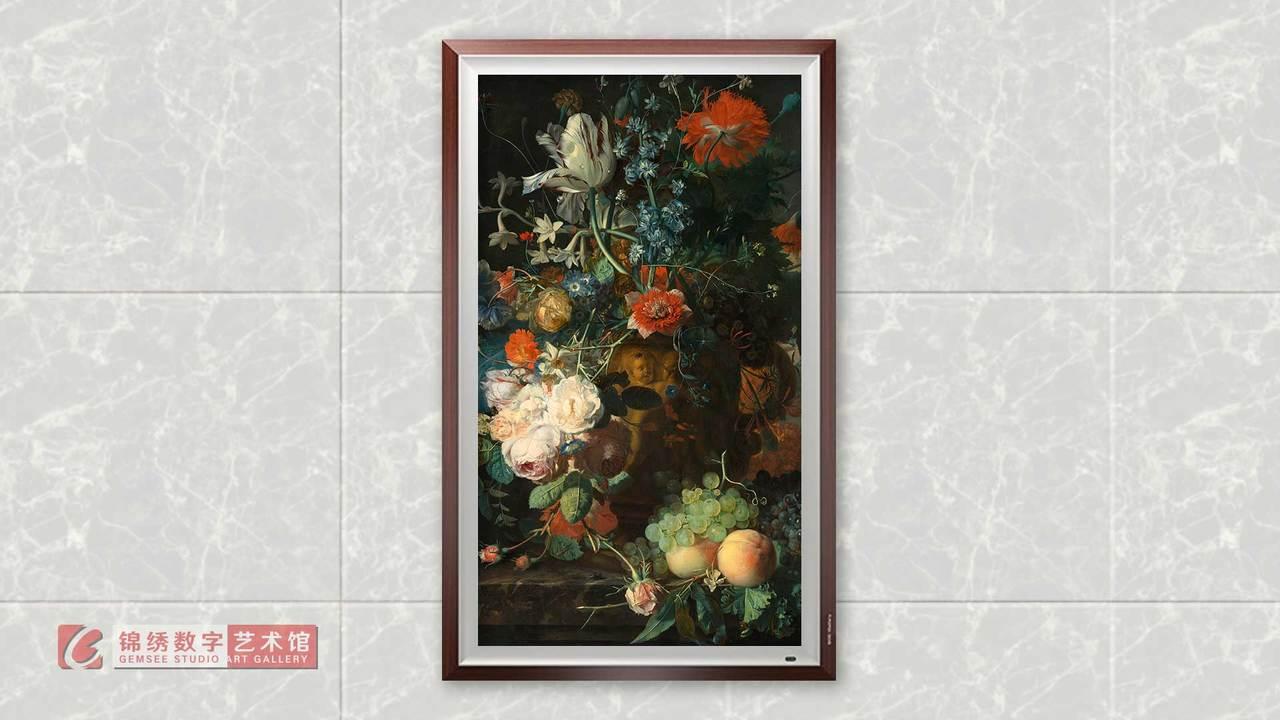 画屏 8K_鲜花和水果 海以森