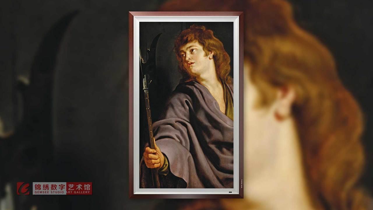 画屏 十二门徒之马太肖像 鲁本斯