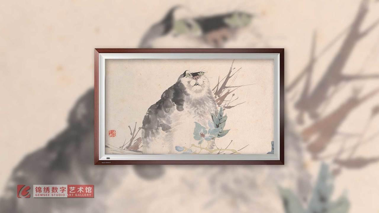 画屏 花鸟蔬果册之五 清 任伯年